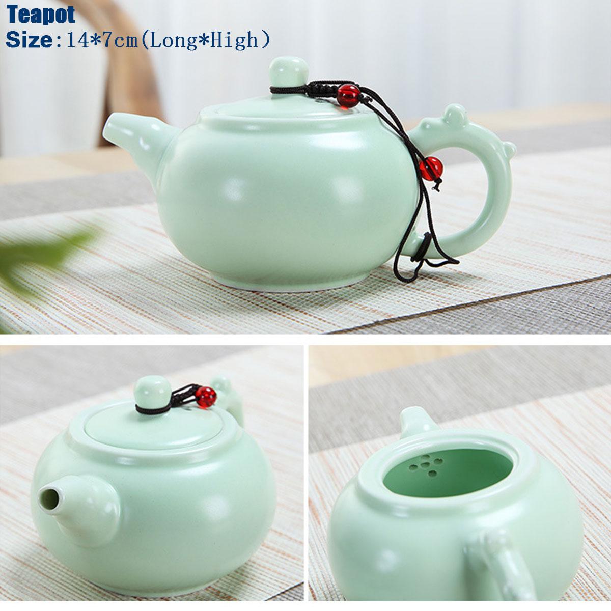 Portable Travel Kung Fu Tea Set Handmade Chinese Porcelain Tea Cup
