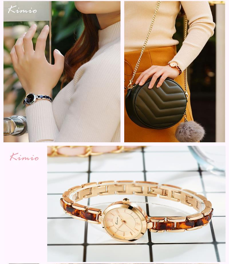 KIMIO K6219S Fashion Women Quartz Watch