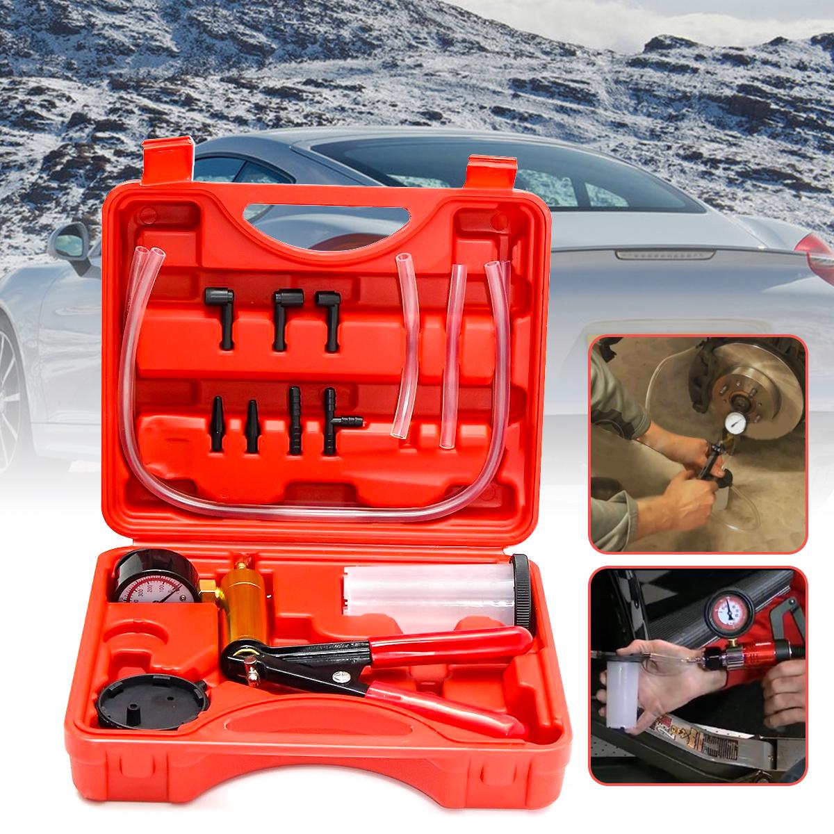 Automobile Manual Vacuum Suction Pump Brake Oil Pumping Auto Repair Tool
