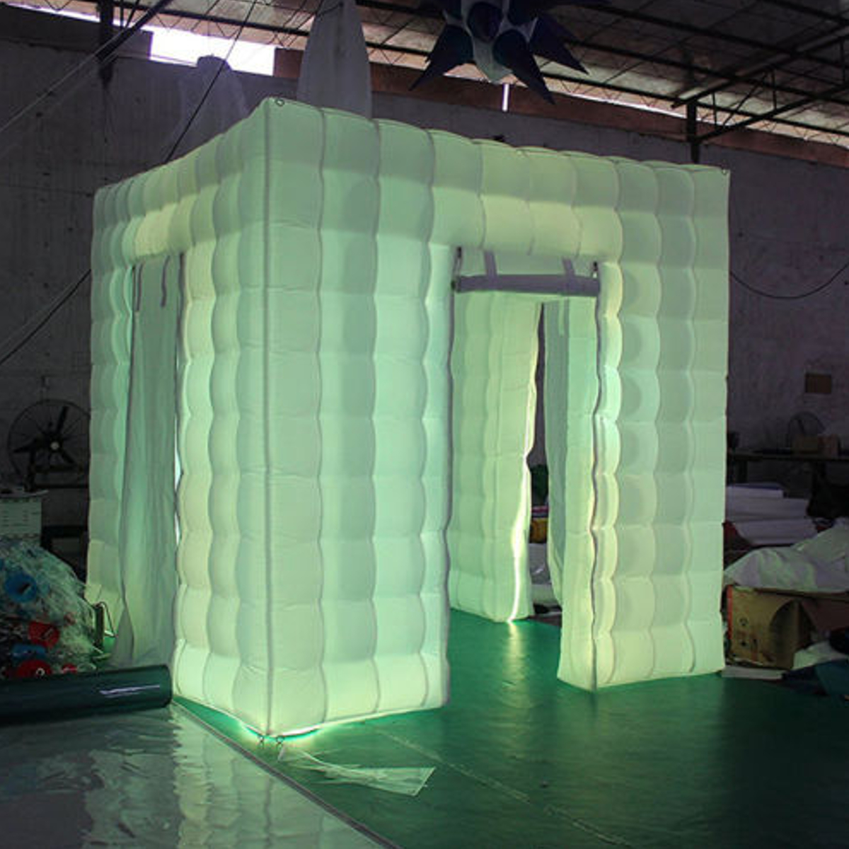 3M Inflatable Professional LED Air Photo Booth Tent Wedding Birthday Party 110V
