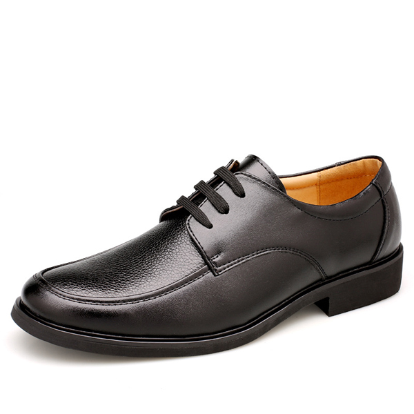 Lace Up Formal Business Shoes Soft Leather Party Dress Shoes