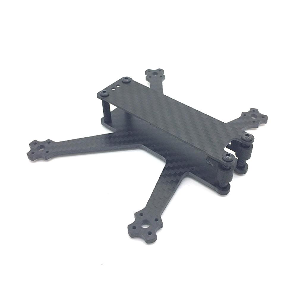 B-Roll 3 Inch 140mm Wheelbase 4mm Arm Carbon Fiber FPV Racing Frame Kit 37.9g