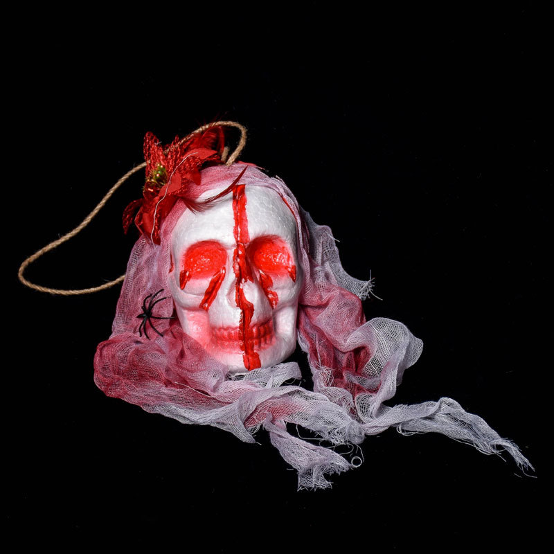 KALOAD M12 Halloween Bar Haunted Full Face Mask Props Bubble Simulation Bloody Ghost Cemetery Terror Dress Up