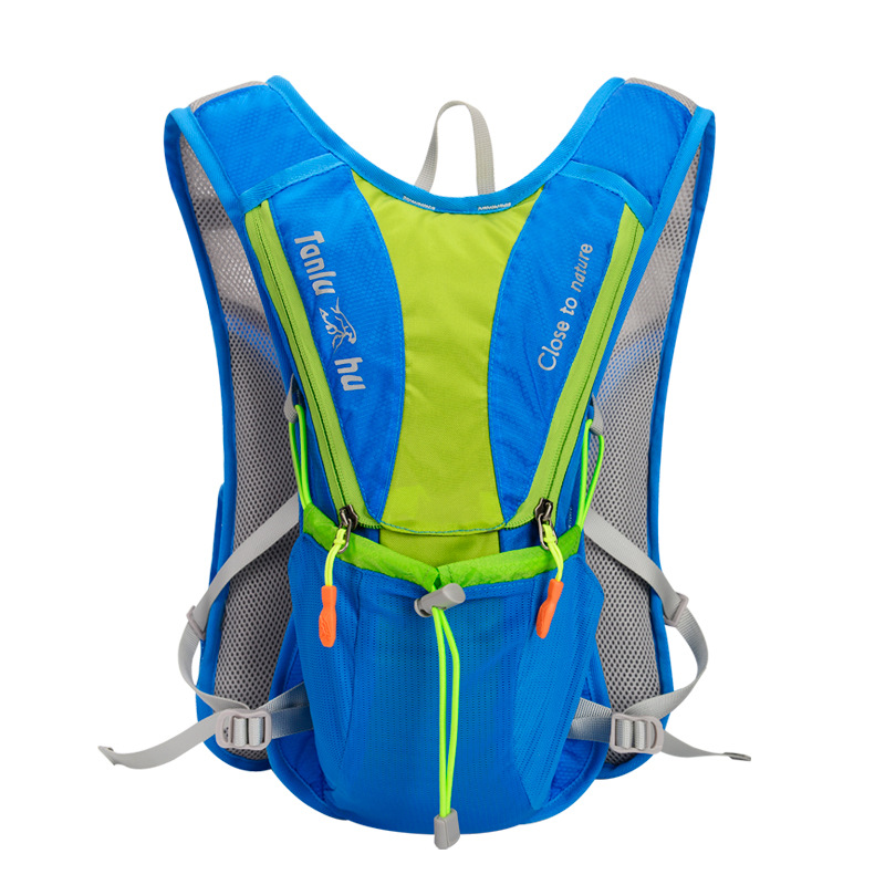 Nylon Outdoor Bags Hiking Backpack Vest Waterproof Running Cycling Backpack For 2L Water Bag For Men