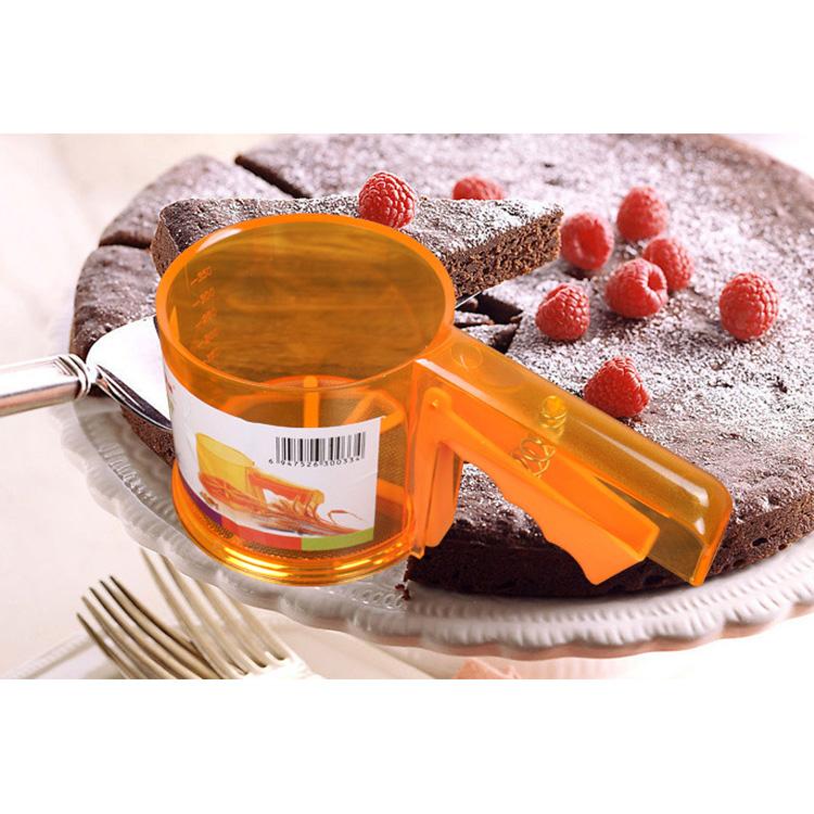 Image of Schalen Form Flour Siebgewebe Mehlsieb Mechanische Backen Puderzucker Shaker Sieve Werkzeug