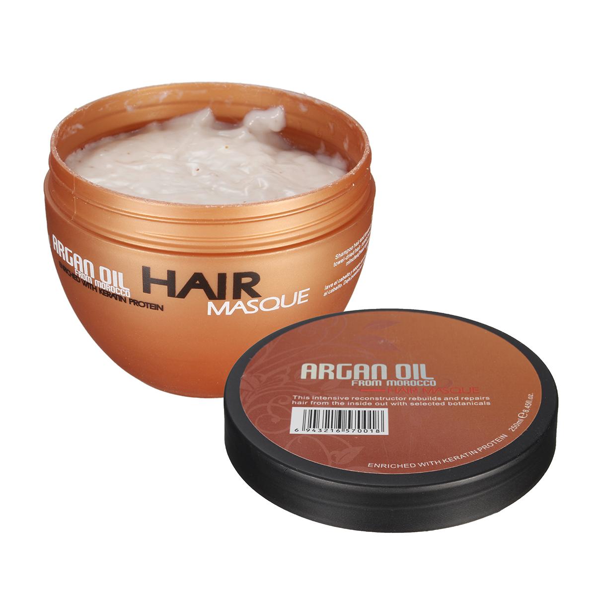 Organic Moroccan Argan Oil Hair Mask Glycerine Natural Deep Conditioner Dry Damaged Hair Treatment