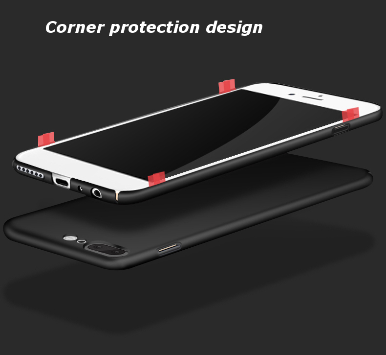 Ultra Thin Silky PC Hard Back Cover Case For OnePlus 5