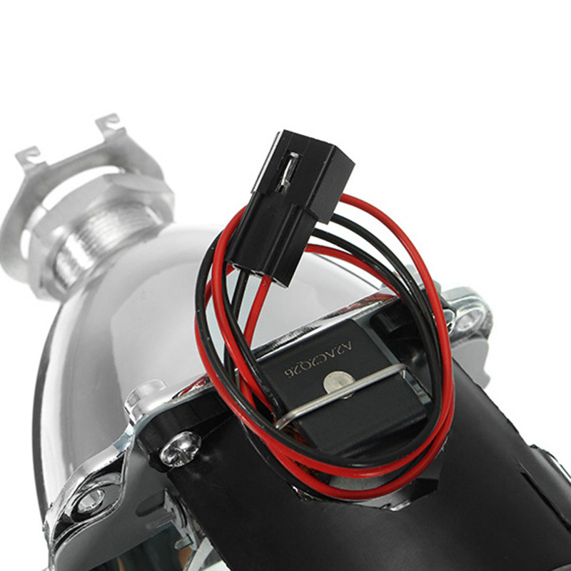2.5 Inch Car Motor Bi-xenon HID Projector Angle Eye Halo Lens Headlight H1 H4 H7