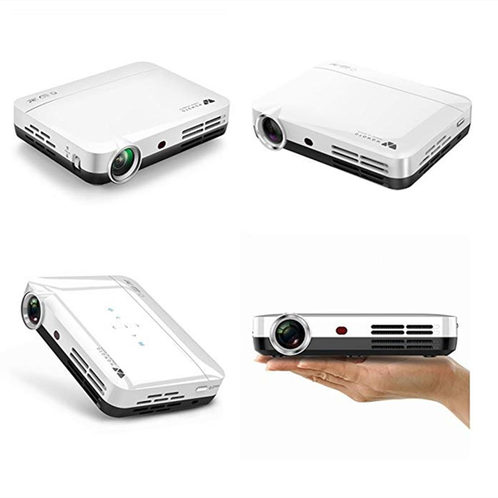 WOWOTO H8 Projector Home Theater Video DLP Projector Android 4.4 Wifi Bluetooth 4.0 Projector