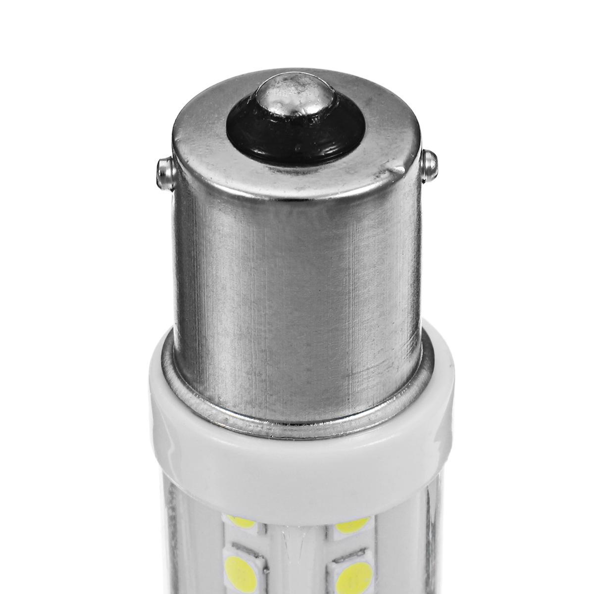 1156 BA15S DC12V-24V 7.8W 900LM Ceramic 18LED Car Turn Lights Taillight Reversing Bulb White