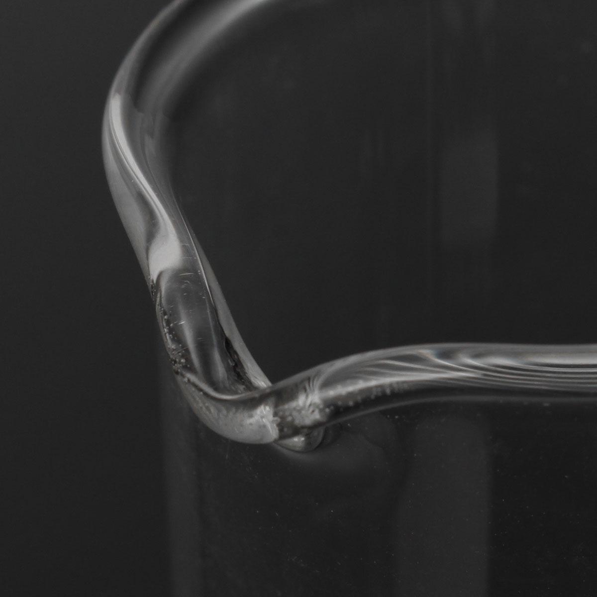 5Pcs 5ml 10ml 25ml 50ml 100ml Beaker Set Graduated Borosilicate Glass Beaker Volumetric Measuring Laboratory Glassware 36