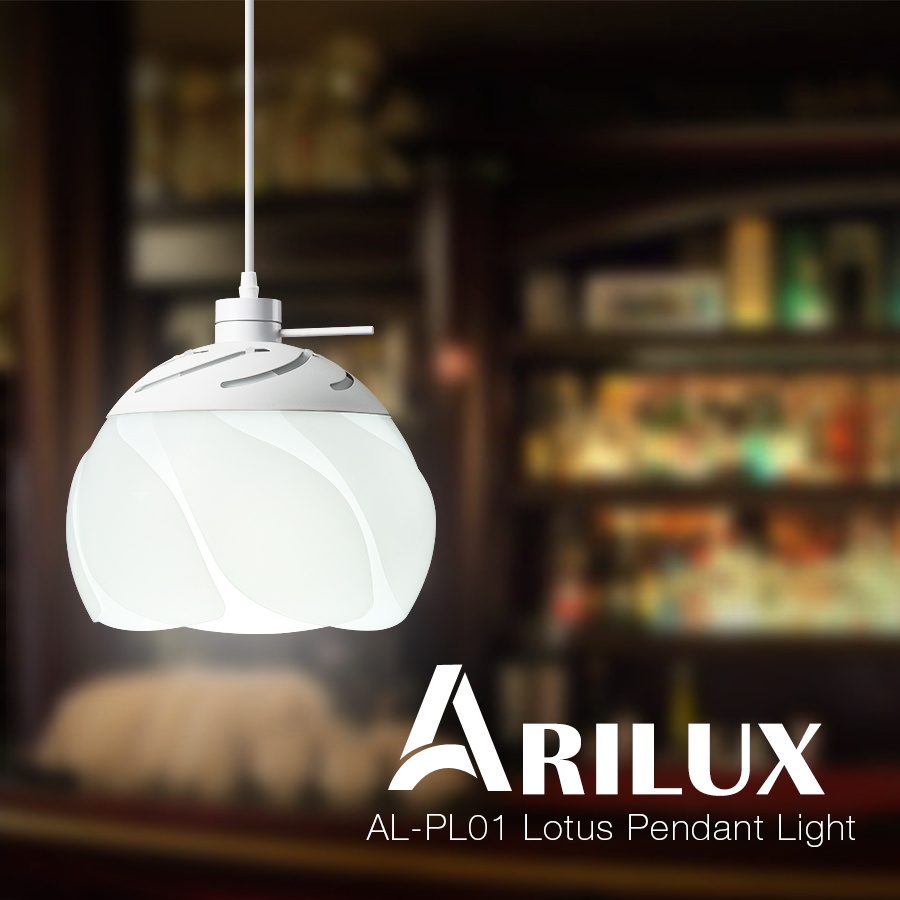 ARILUX® HL-PL 01 E26/E27 Lotus Ceiling Light Pendant Chandelier Lamp For Dinning Room Indoor Lighting