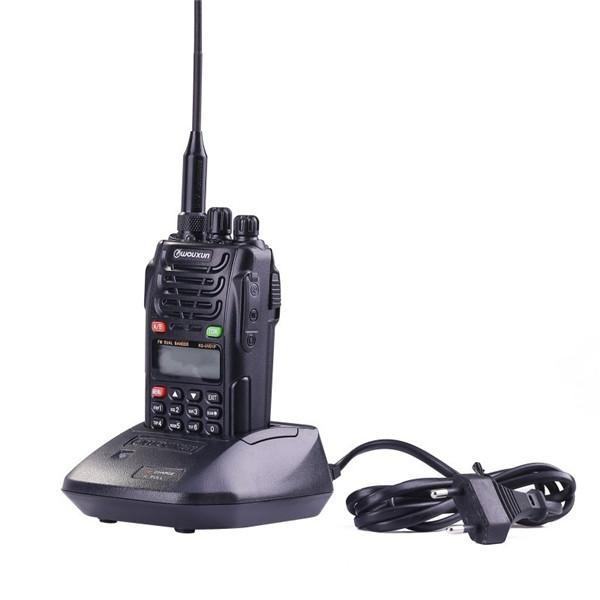 WouXun KG-UVD1P VHF UHF Dual Band Dual Display Dual Standby Waterproof Two-way Radio Walkie Talkie