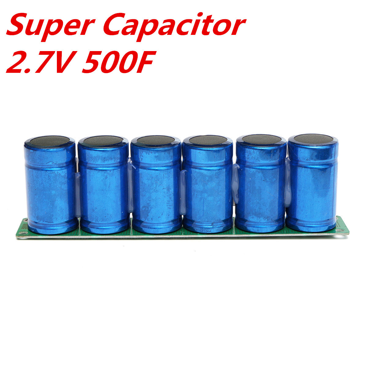 Farad Capacitor 2.7V 500F Super Capacitor With Protection Board