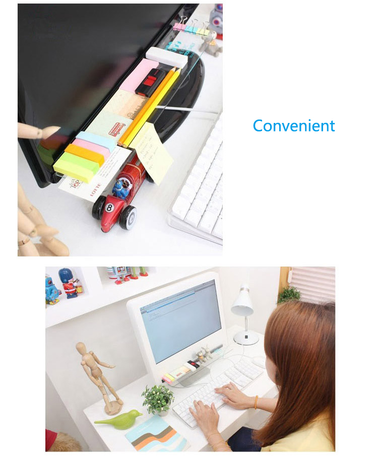 Universal Transparent Acrylic Storage Rack For Computer Display