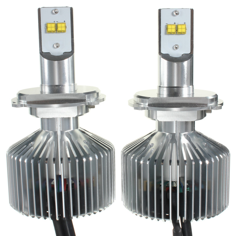 1Pair 45W 4500LM 6000K H4 H7 H8/9/11 9004 9005 9006 LED Headlight Bulbs Conversion Kit
