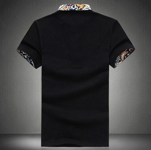 Men Casual Cotton Sports Polo T-shirt Size S-3XL