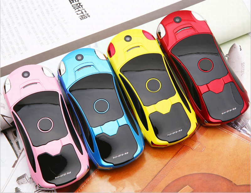 NEWMIND F8 Car Model Cellphone 1.8'' 1900mAh Flashlight Music Player Dual Sim Mini Card Phone