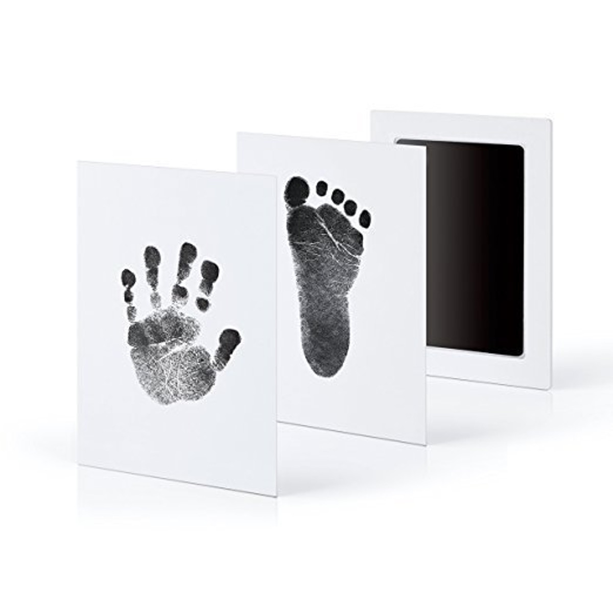 DIY Baby Footprint Handprint Impression Ink Kit Shadow Photo Frame Keepsake Baby Shower Safe Gift