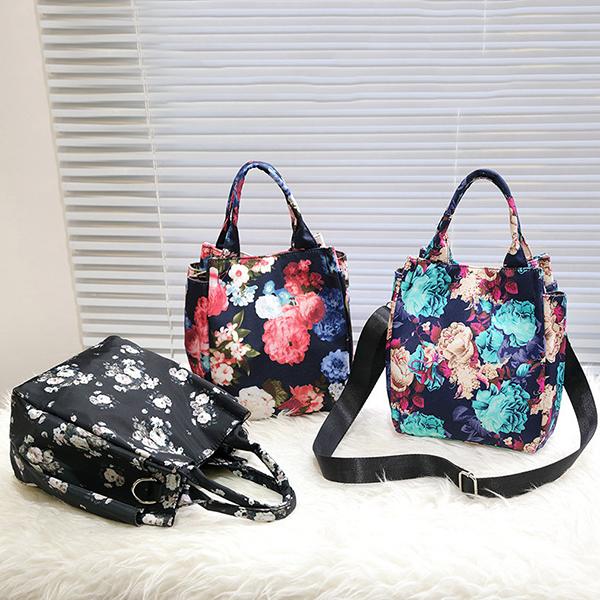 Women Nylon Shoulder Bags Fashion Messenger Handbags