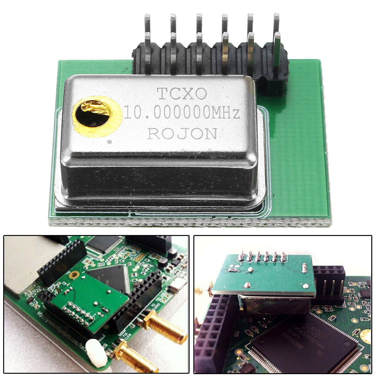 External TCXO Clock Module PPM 0.1 For HackRF One GPS Experiment GSM/WCDMA/LTE