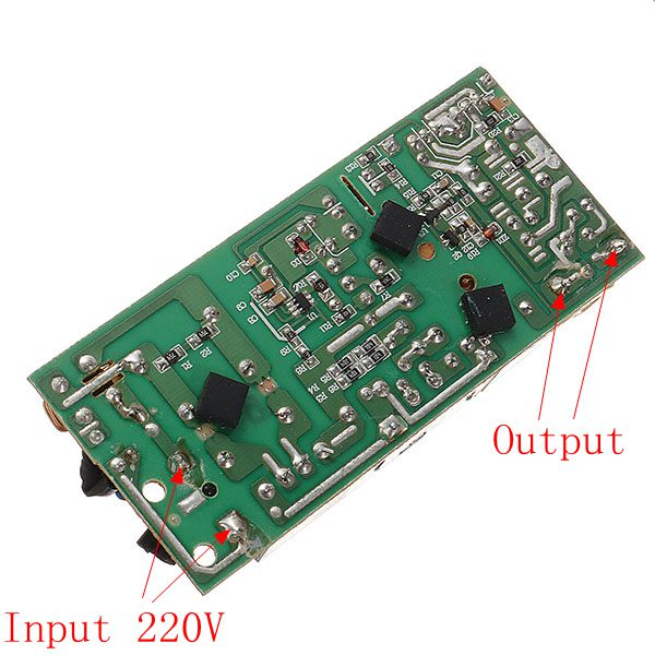 3pcs AC-DC 12V 5A 60W Switching Power Bare Board Circuit Board Power Module Monitor LCD Display AC 100-240V To DC 12V