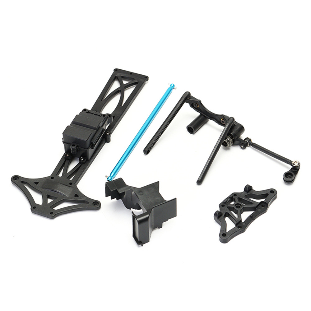 ZD Racing 9104 Thunder ZTX-10 1/10 2.4G 4WD Rc Truggy DIY Car Kit Without Electronic Parts - Photo: 6