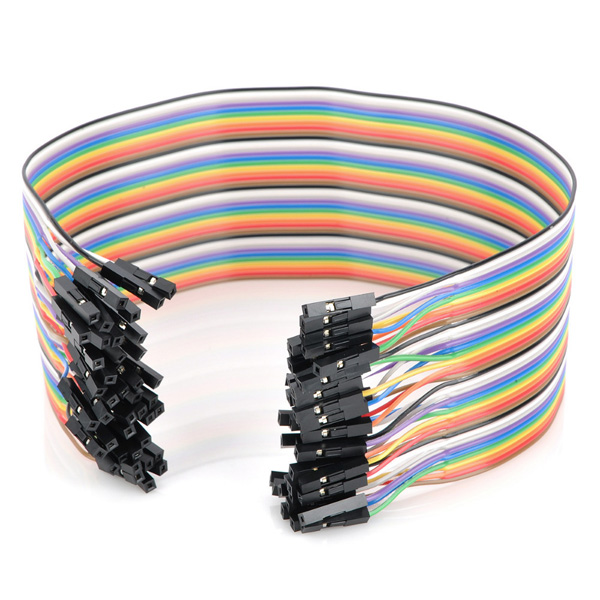 120pcs 30cm Female To Female Breadboard Wires Jumper Cable Dupont Wire
