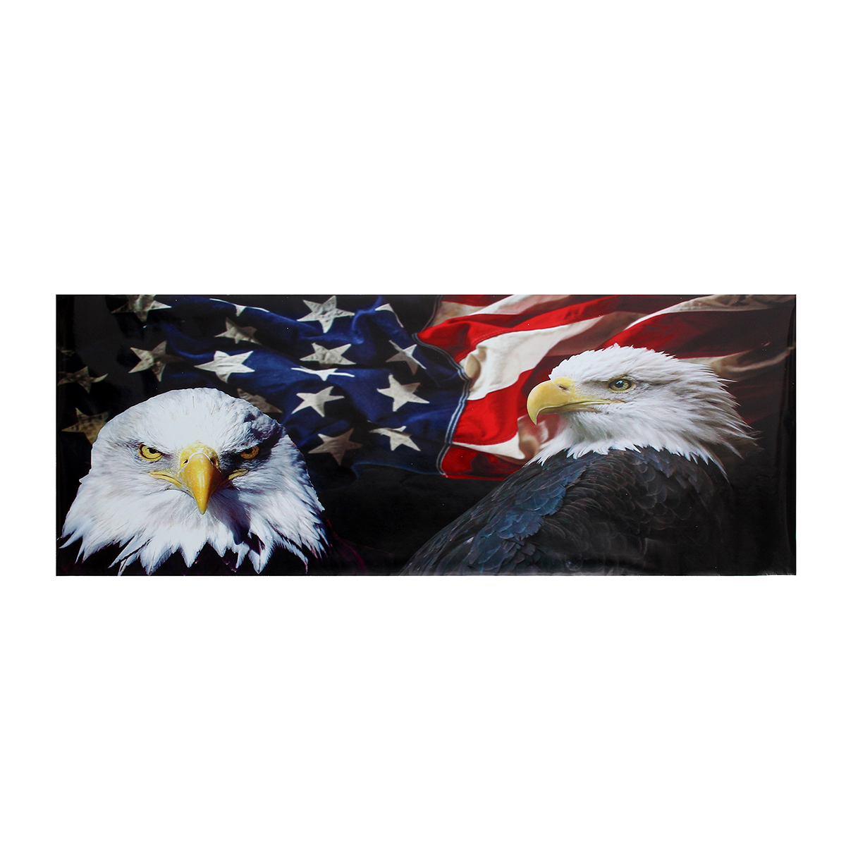167x63.5cm T40 Eagle America Flag Tailgate Wrap Vinyl Graphic Car Decal Truck Rear Wrap Car Stickers