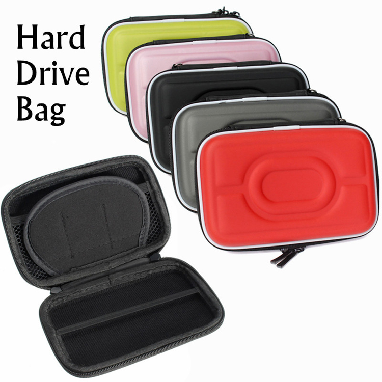 Universal Shockproof Protect Case Bag For WD Seagate 2.5inch Portable Hard Drive