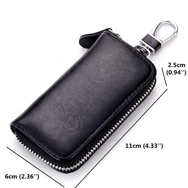 Men Women Zipper Key Bag Multifunction Car Key Waist Bag Multicolor Pouch