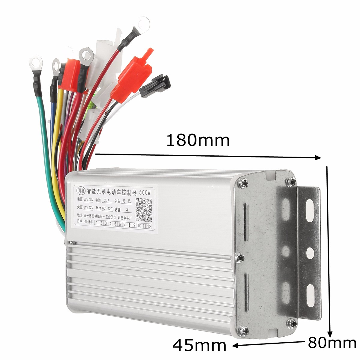48v 500w 30a Brushless Motor Controller For Electric Scooters Bike Motors Wiring In Parallel