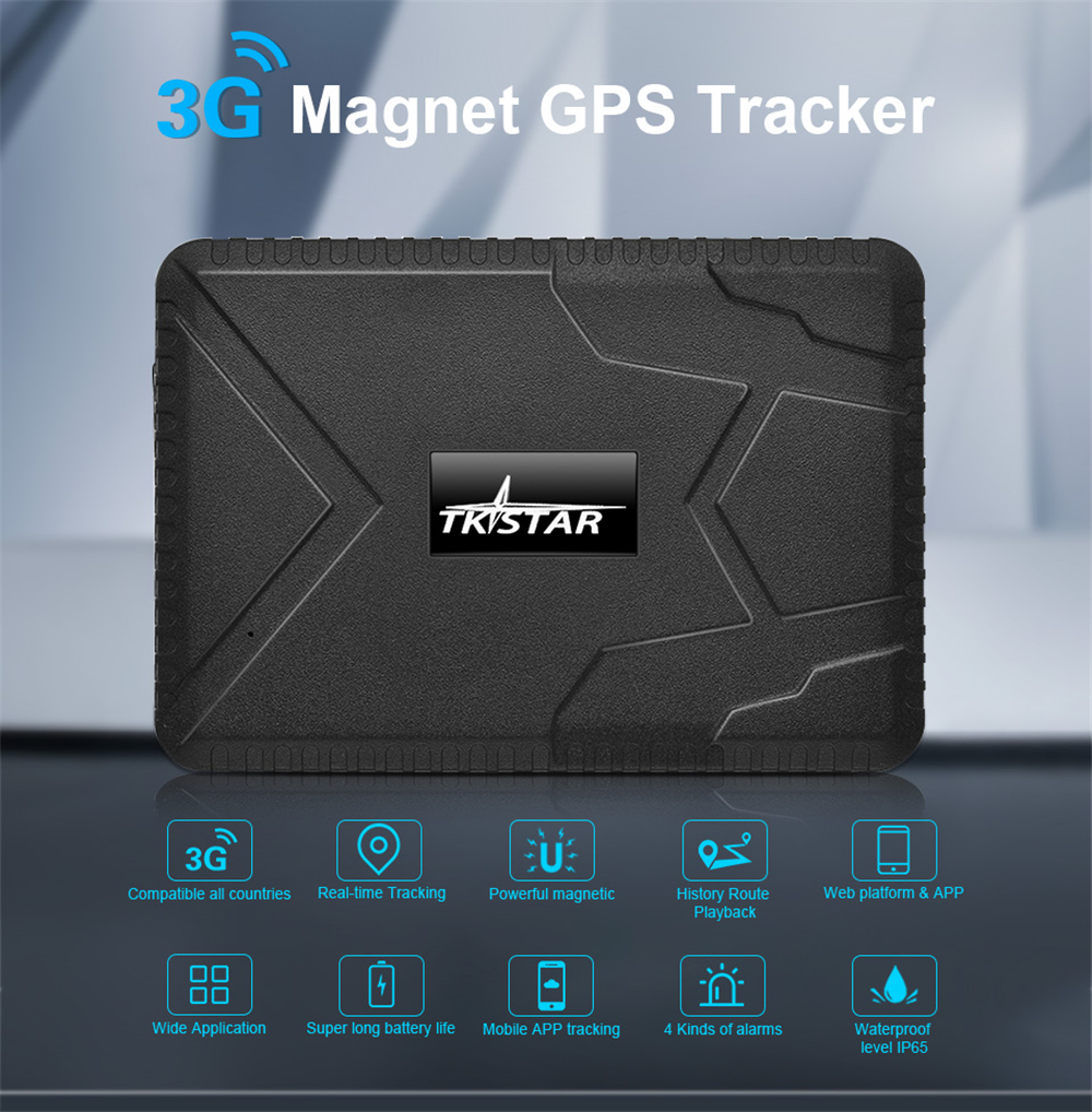 TKSTAR TK915 GPS Tracker 3G 2G GSM GPRS Locator Voice Monitor 10000mAh with Powerful Magnet Free Web APP