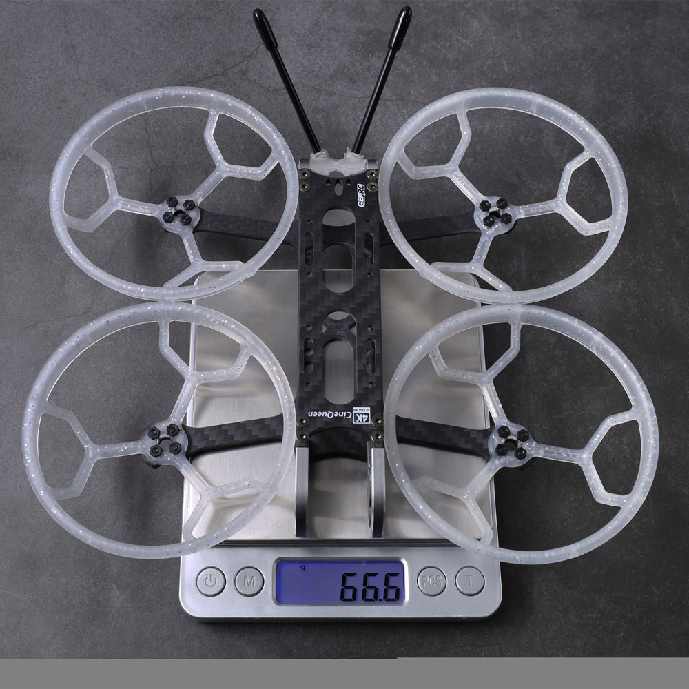 Geprc CineQueen 145mm Wheelbase 3mm Arm Thickness 3 Inch Frame Kit for RC Drone FPV Racing - Photo: 6
