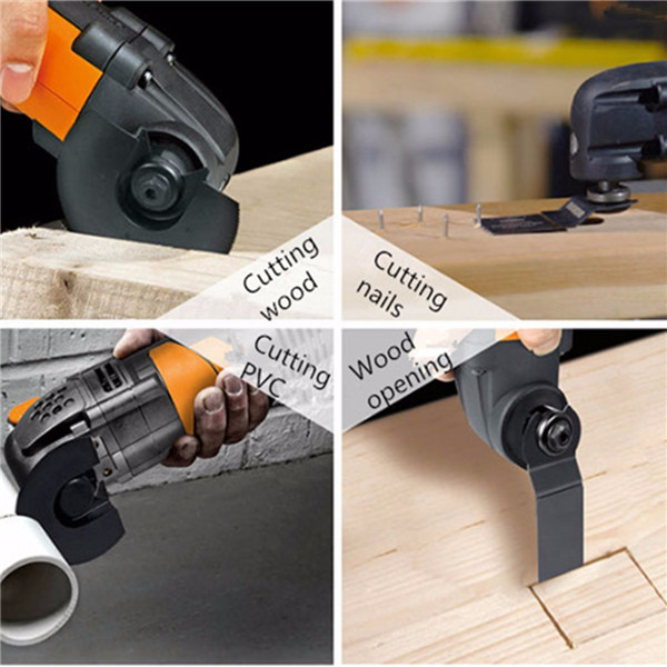 1011H 80mm High Carbon Steel Full Circle Saw Blade Oscillating Multi Tool Oscillating Tools