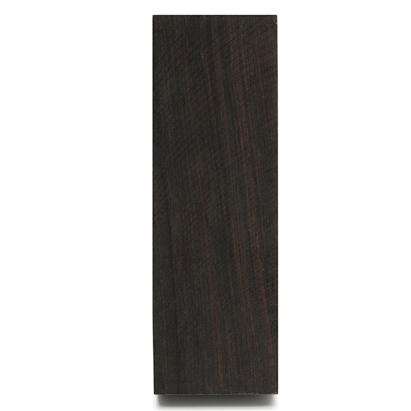 12x4x2.5cm Black Ebony Lumber Original Wood Timber Handle Plate