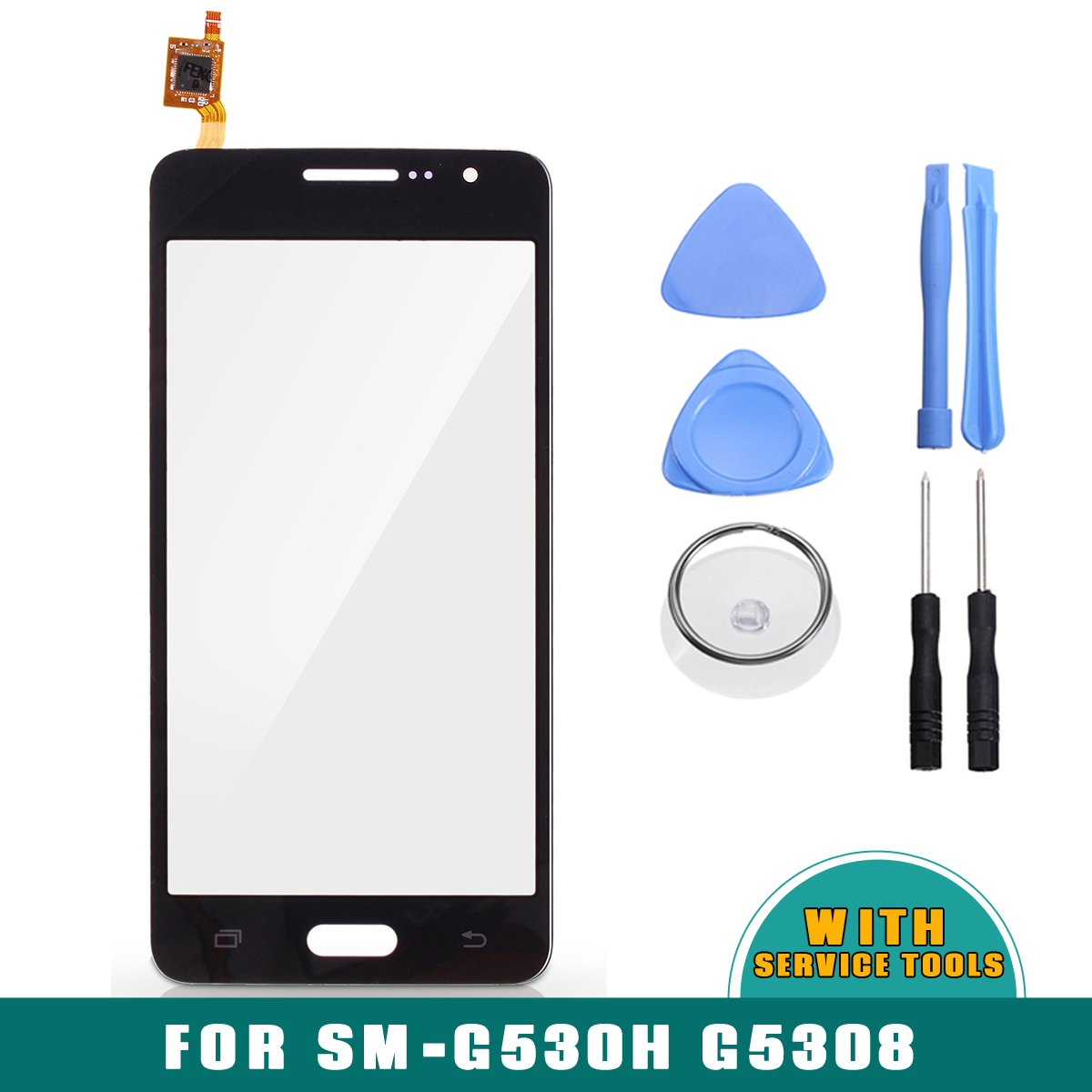 Touch Screen Digitizer Glass Replacement Part & Repair Tools for Samsung Galaxy Grand Prime SM-G530H G5308