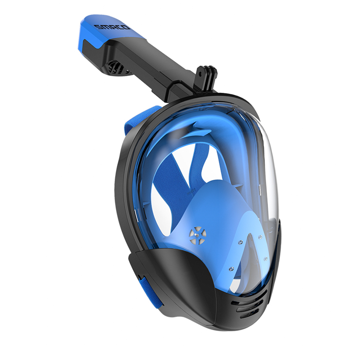 Anti Fog Leak Full Face Snorkeling Mask Swimming with Breathing Tube Dive Scuba Goggles Adult Kid