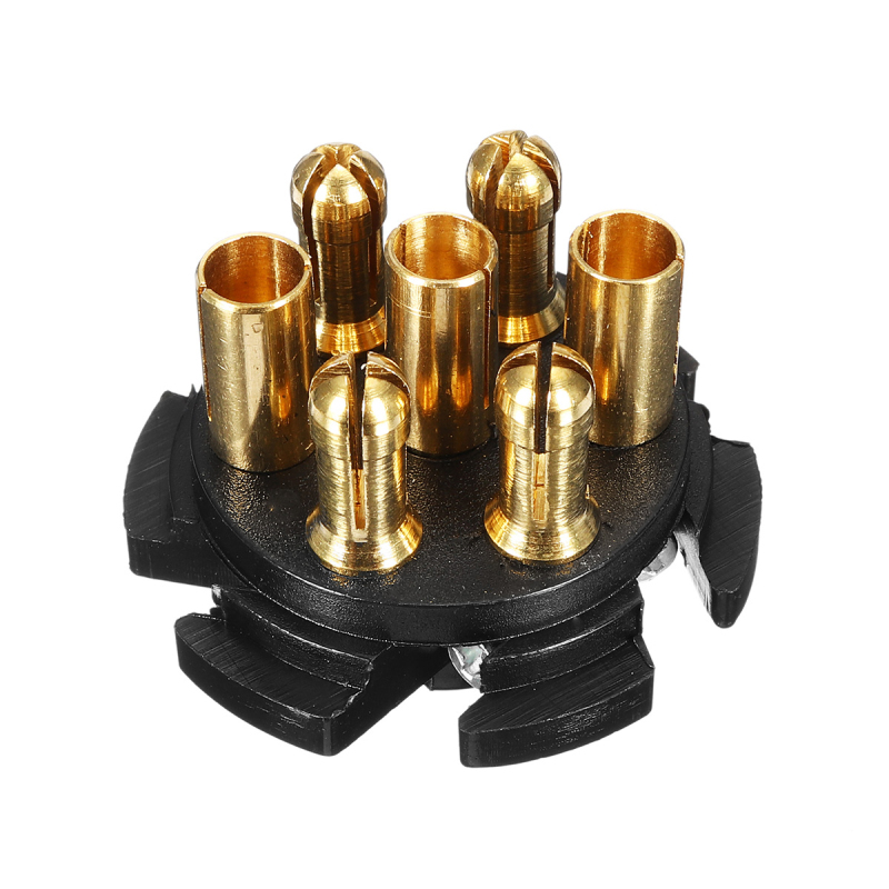 7 Pin Adapter Connector Socket Trailer 12V Towbar Towing Electric Converter N Type Waterproof