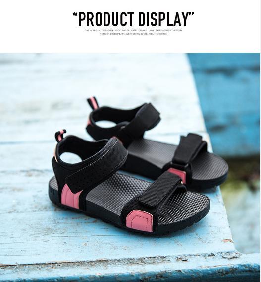 IPOMOEA Women Loose Cake Non-slip Slope Vietnam Shoes Cool Summer Sandals Beach