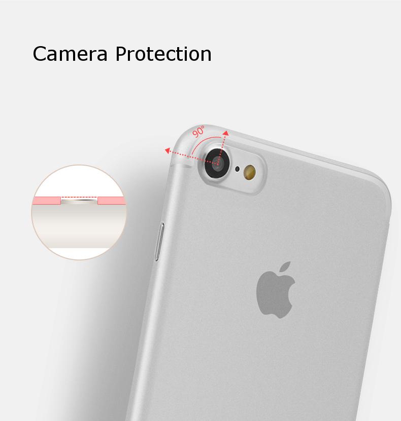 Baseus Ultathin Slim Transparent PP Case For iPhone 7/iPhone 8