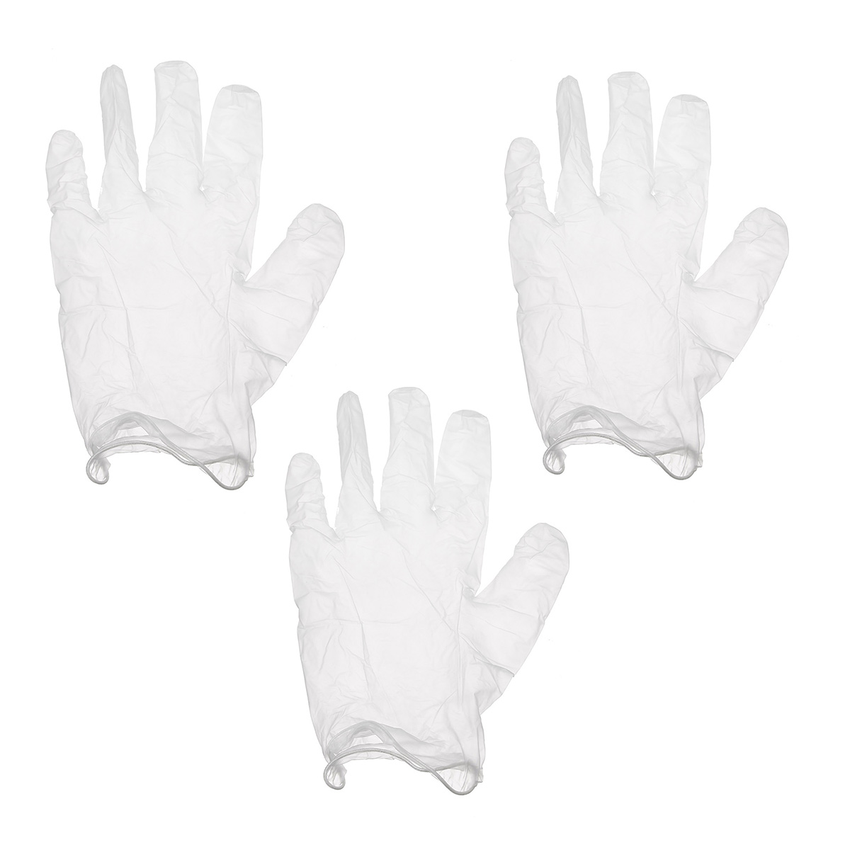 100pcs Tattoo Disposable Thick Elastic Texture Antiskid Chemical Defense Gloves
