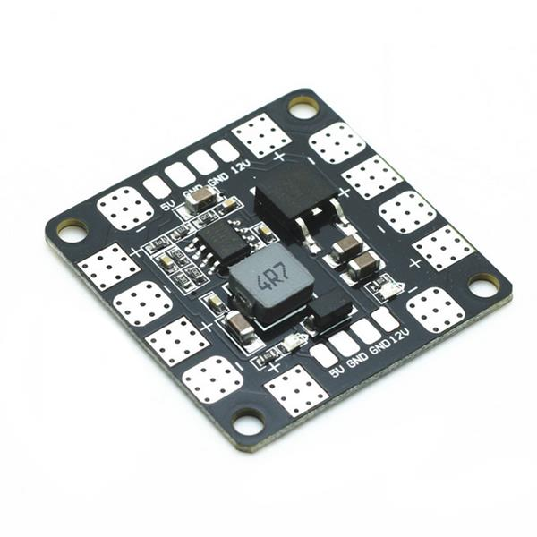 Lantian PDB Power Distribution Board with BEC Output 5V 12V 3A for CC3C Naze32 Upgraded version for RC Drone