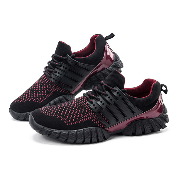 Men Running Training Athletic Shoes Outdoor Sport Breathable Shoes