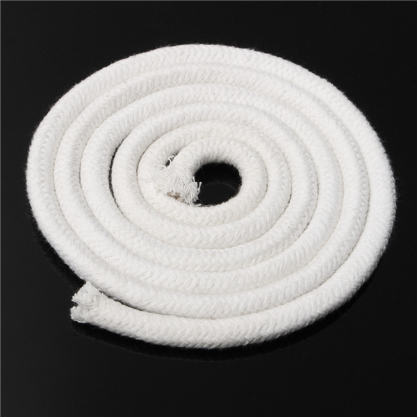 10mm 1.5m Round Cotton Wick For Alcohol Lamp Garden Patio Torch