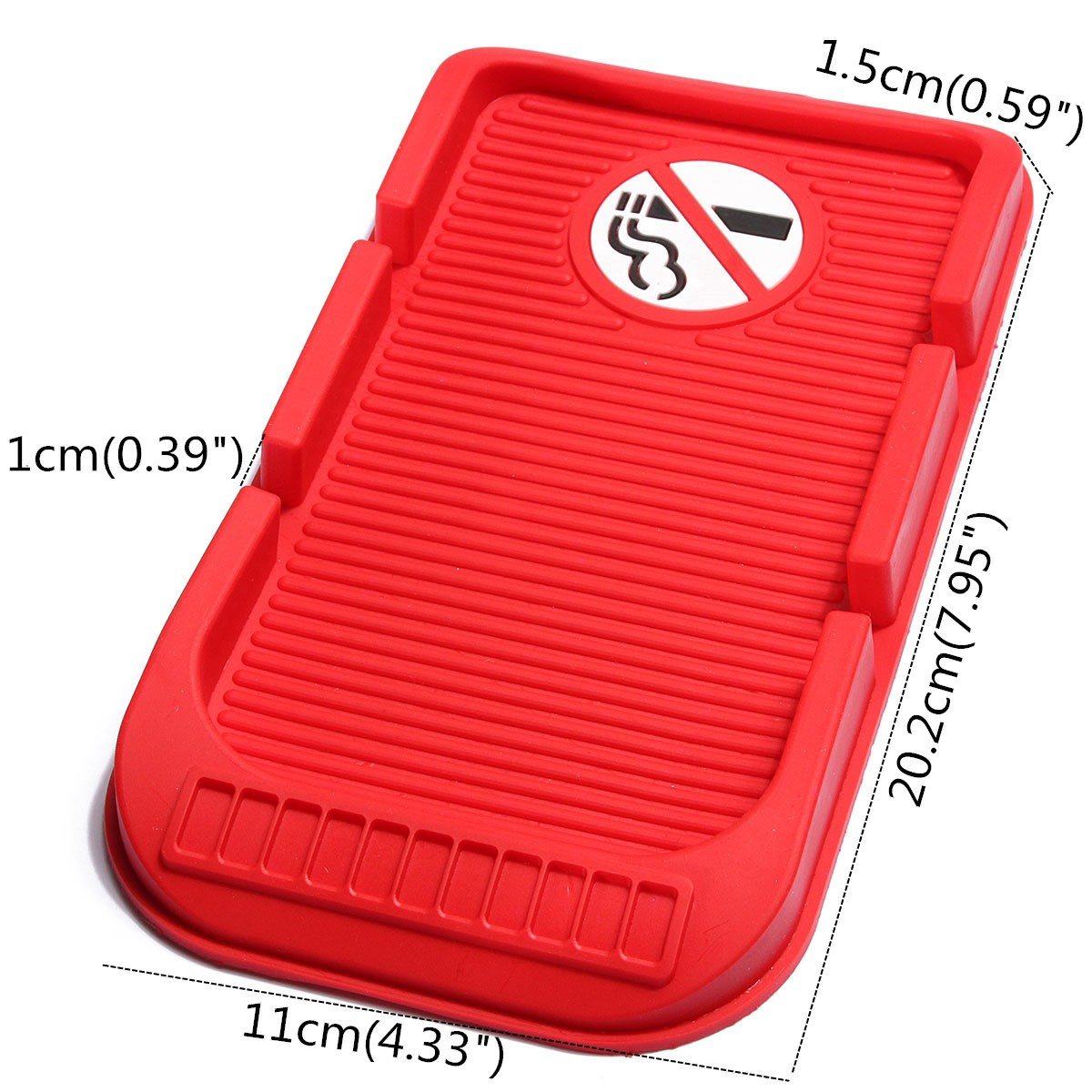 20.2x11cm PVC Car Dashboard Anti Slip Sticky Holder Non Slip Mat Pad Phone Holder