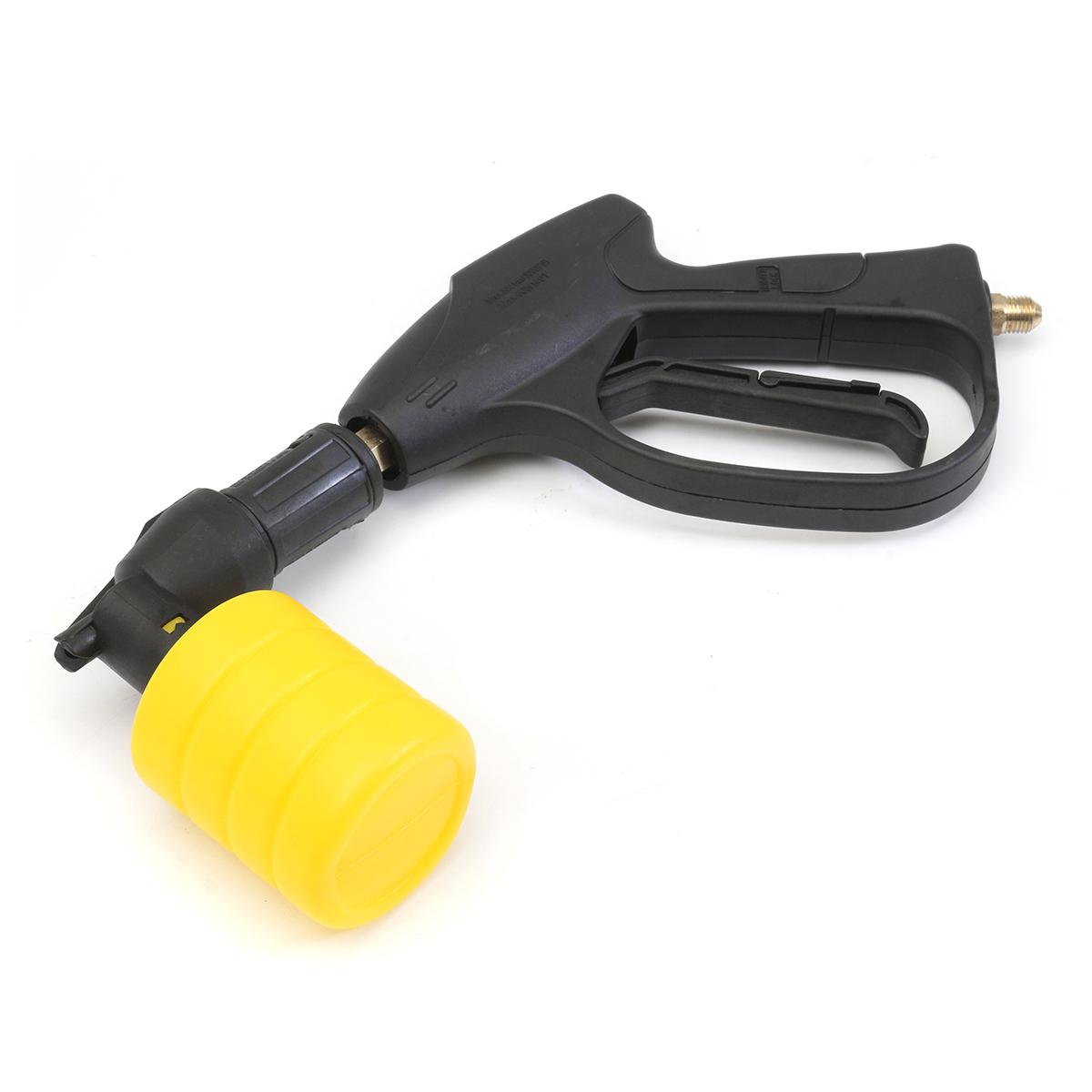 Portable High Pressure Electric Washer Wash Gun Wash Pump Set Yellow