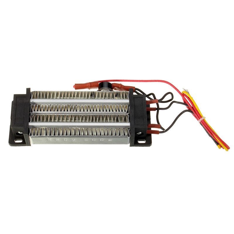 500W 220V PTC Ceramic Air Heating Element Electric Heater Fever Tablets DC/AC