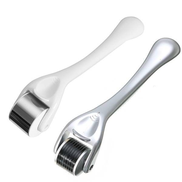 Y.F.M Titanium Micro Needle Derma Roller Acne Treatment + Ice Skin Cool Roller Anti-aging Tool
