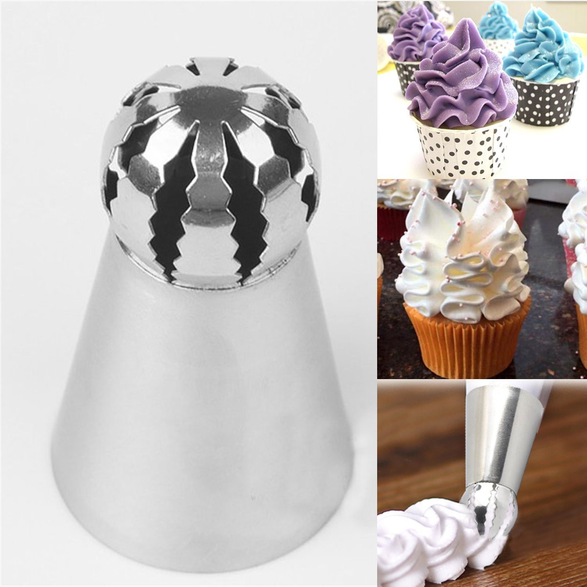 Sphere Ball Icing Piping Nozzle Tips Pastry Cup Cake Decorating SugarCraftools